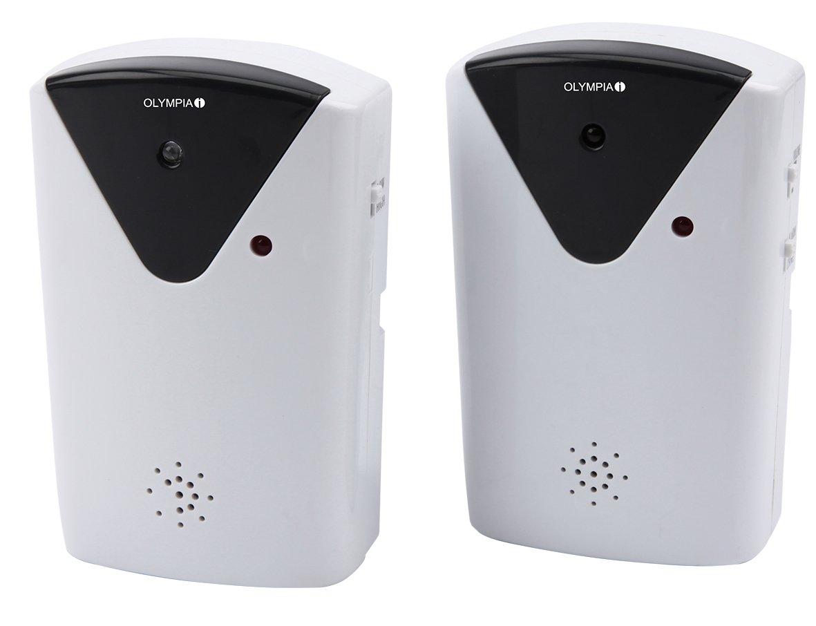 OLYMPIA IR 200, Barrera de rayo infrarrojo, con función de alarma y gong: Amazon.es: Bricolaje y herramientas