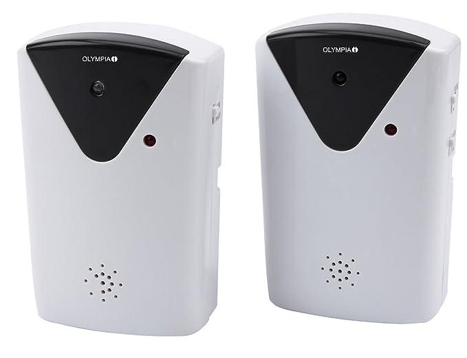 Infrarot Lichtschranke mit Türgong Sirenenlautstärke 100 dB Olympia IR200
