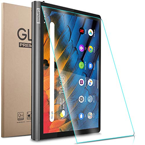 Gylint Lenovo Yoga Smart Tab 10.1 (YT-X705F) Screen Protector - Tempered Glass 9H Hardness Scratch Resistant Bubble Free Tempered Glass Screen Protector for Lenovo Yoga Smart Tab 10.1 (YT-X705F)