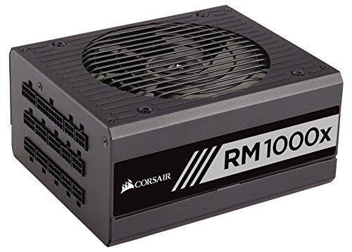 CORSAIR RMx Series, RM1000x, 1000 Watt, 80+ Gold , Fully Modular Power Supply (Renewed)