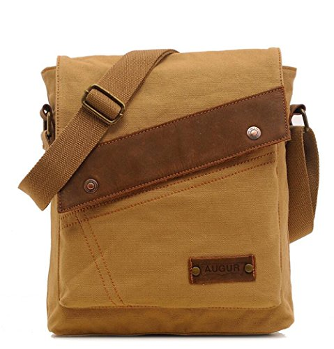Hiking Yellow Shoulder Men Sling For Bag Travel Use Business Ipad Outdoor Applicable Lightweight Pinchu Daily twq6Uxzt