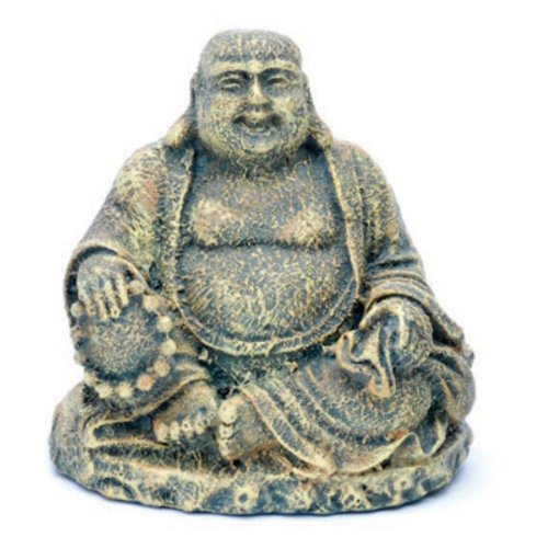 Penn-Plax RR564 Mini Sitting Buddha Ornament Deco Replica