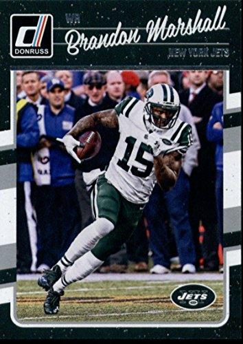 ff715ea9f75 Amazon.com  Football NFL 2016 Donruss  211 Brandon Marshall  211 NM+ NY Jets   Collectibles   Fine Art