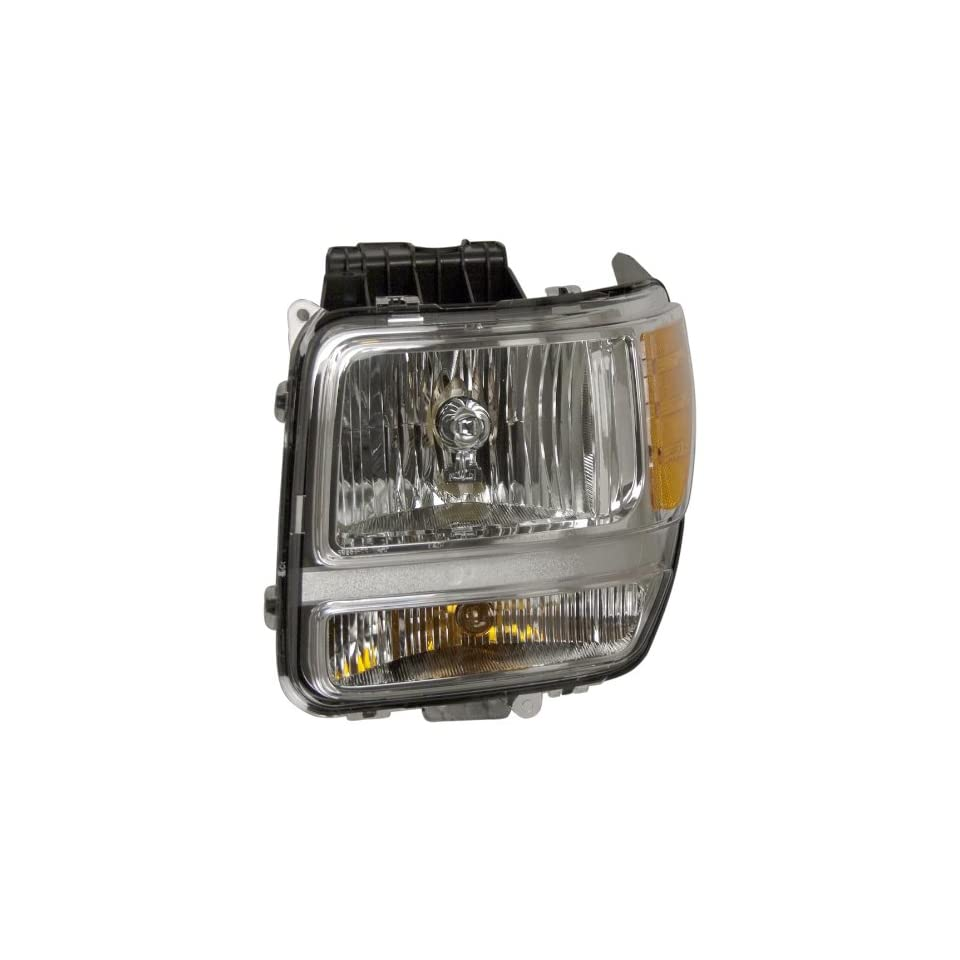 OE Replacement Dodge Nitro Driver Side Headlight Assembly Composite (Partslink Number CH2502177)