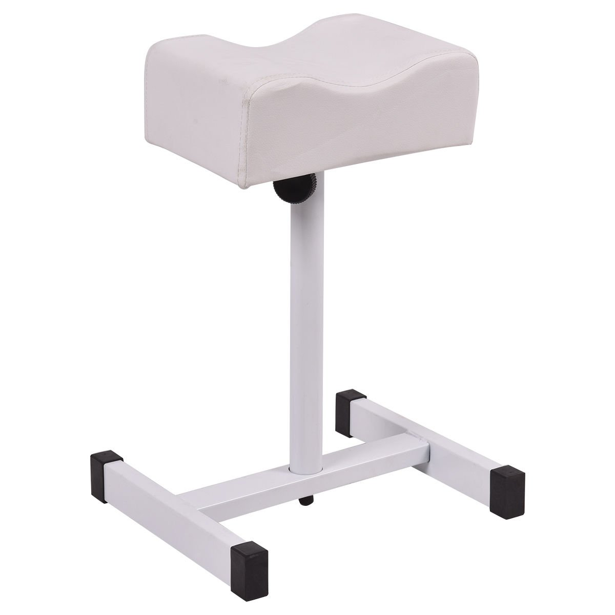 Giantex Pedicure Manicure Footrest W/Adjustable Seat Height Technician Nail Equipment Salon Spa (White) by Giantex