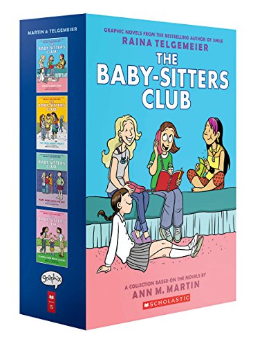 The Baby-Sitters Club Graphix #1-4 Box Set: Full-Color Edition]()