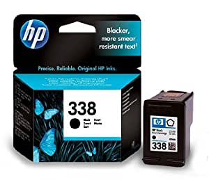 BadgerInks-Cartucho de tinta para impresora HP Officejet 7215, color negro