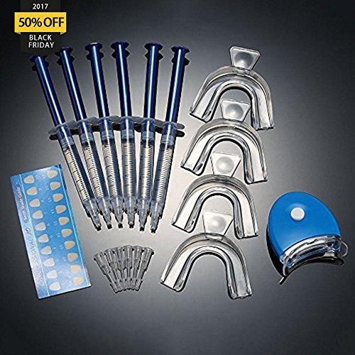 G-smart Teeth Whitening Kit. Pro Home Tooth Dental Care White 6x GEL Bleaching Kit Advanced Light Whitener