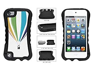Adventurous Floating Hot Air Balloon Dual Layer Phone Case Back Cover Apple iPod Touch 5th Generation