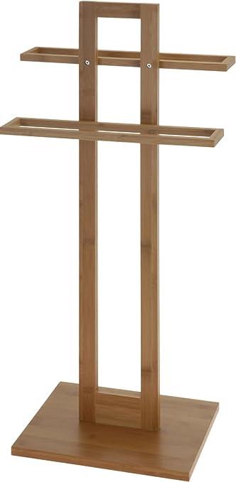 Handtuchhalter Ständer bambus handtuchhalter stummer diener holz handtuch ständer