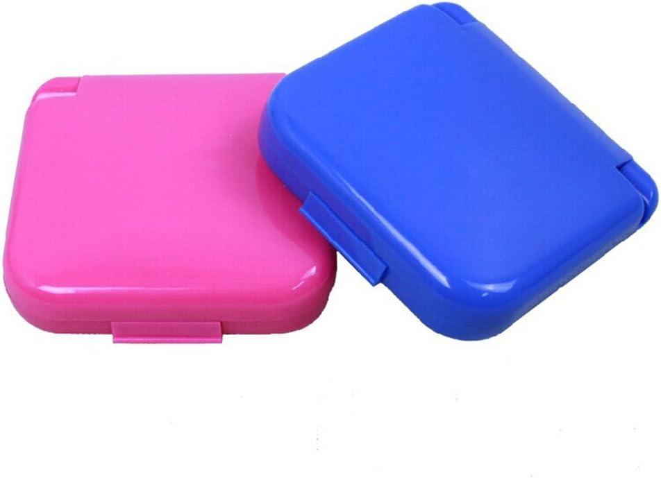 colore casuale ULTNICE Set di forbici da viaggio con ago e fermaglio per cucire Kit con borsa con cerniera blu Home Campers da viaggio regalo di emergenza premium