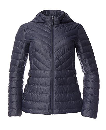 Women's Plus Size Packable Down Jacket - Stormy Night -2X