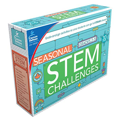 (Carson Dellosa Seasonal STEM Challenges Learning Cards (140351))