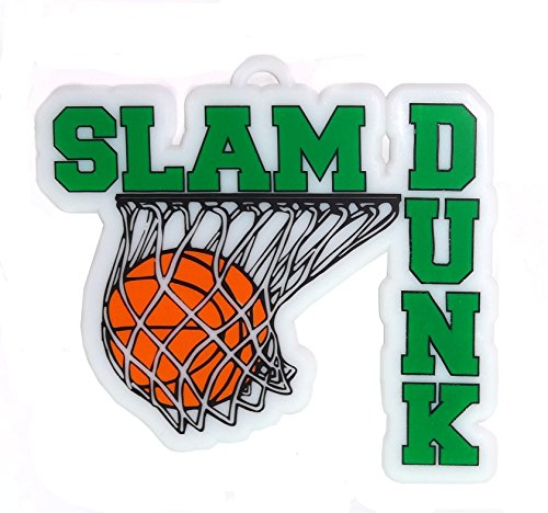 ACI PARTY AND SPIRIT ACCESSORIES Slam Dunk Embellishment, Green Accent -