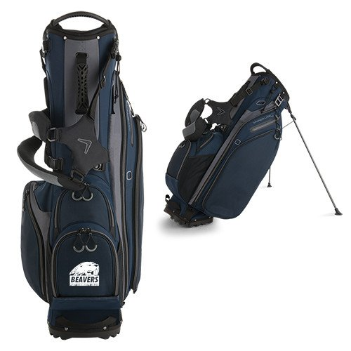 Pratt CC Callaway Hyper Lite 4 Navy Stand Bag 'Official Logo' by CollegeFanGear