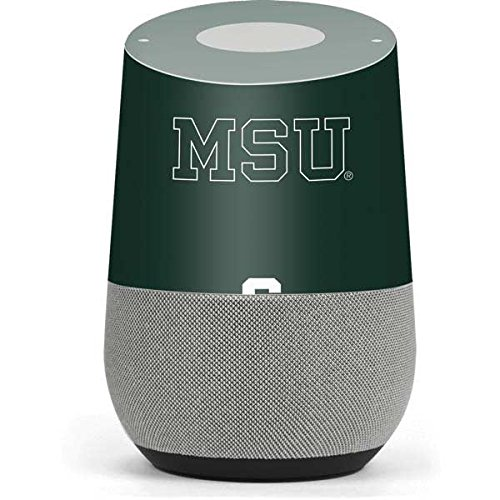 Michigan State University Google Home Skin - Michigan State University MSU Letters Vinyl Decal Skin For Your Home by Skinit