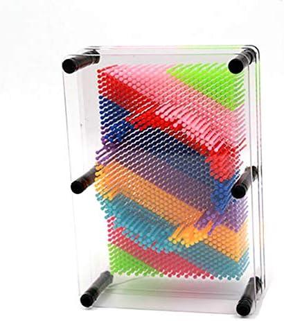 キャンディーカラーカラフルチェンジニードルペインティング3Dステレオハンドクローニングニードルカービングハンドモデルクリエイティブギフト-マルチカラー-M
