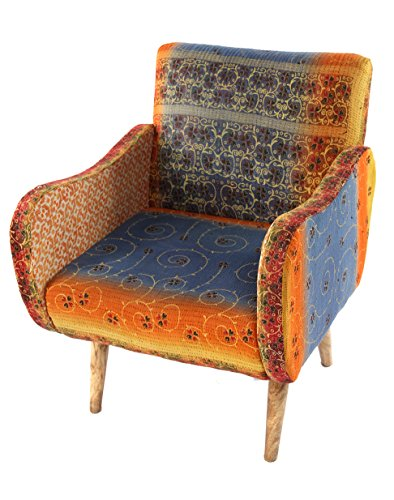 _177C Lounge Kantha Chair, 27