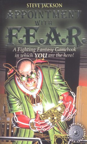book cover of Appointment with F.E.A.R.