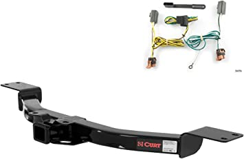 CURT Class 5 Trailer Hitch Bundle with Wiring for Chevrolet Express GMC Savana 15320 /& 55377