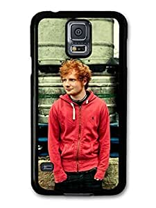 AMAF ? Accessories Ed Sheeran Red Hoodie Posing case for Samsung Galaxy S5 by mcsharks