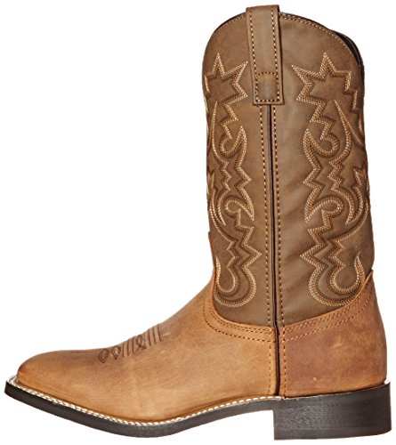 Pictures of Laredo Men's Chanute Western Boot Tan 8 XW US 5