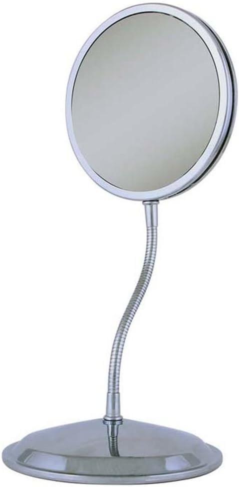 Zadro Triple Vision Gooseneck Magnifying Vanity/Wall Mirror 1X/5X/10X, (FG60)