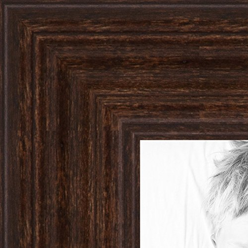 ArtToFrames 24x30 inch Walnut Stain on Hard Maple Wood Picture Frame, ()