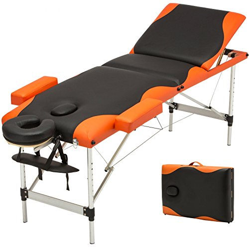 Aluminum 3 Fold Portable Massage Table Facial SPA Bed Tattoo w/Free Carry Case + FREE E-Book by Eight24hours