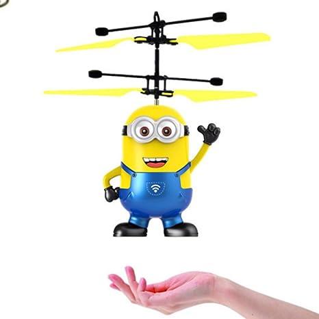 Fiabao Bola voladora, Juguetes voladores para niños, helicóptero ...