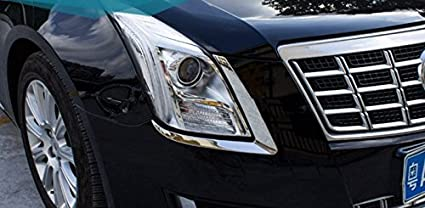 Eppar New Front Headlight Eyelids for Cadillac XTS 2013-2016