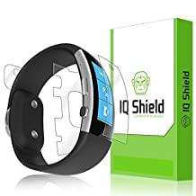 IQ Shield LiQuidSkin - Microsoft Band 2 Screen Protector (2015) + Full Body (Front & Back) & Warranty Replacements - HD Ultra Clear Film Guard - Smooth / Self-Healing / Bubble-Free Shield by IQShield