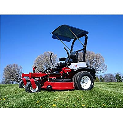 Over Armour Offroad Mower X-Mark E and X Series Dark Grey Tinted Polycarbonate Canopy By XMARK-EX-HT03
