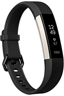 Fitbit Alta HR Activity Tracker, Large, Black FB408SBKL (Certified Refurbished)