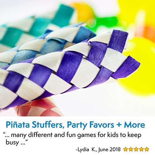 Party Favors for Kids Goodie Bags - 120 Pc Party Supplies Bulk Toys Pack for Birthday Goodie Bags Birthday Party Favors Pinata Filler Prizes and More by PartySticks (Image #4)