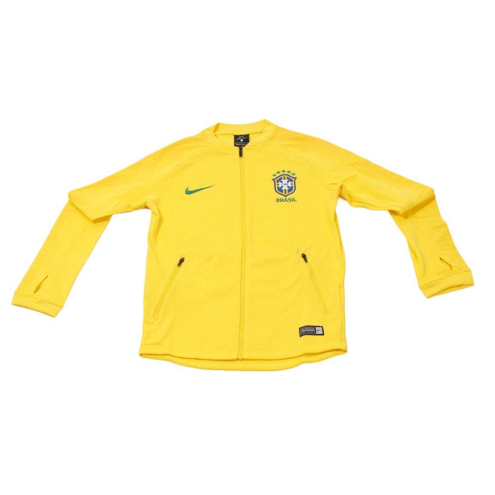NIKE(ナイキ) ジュニア サッカーウェア Brasil CBF アンセム ジャケット ブラジル代表 893843 B0762TH65R 150|イエロー イエロー 150