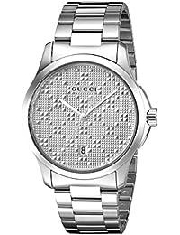 Swiss Quartz Stainless Steel Dress Silver-Toned Men's Watch(Model: YA126459)