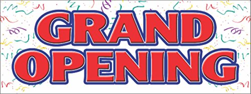 GRAND OPENING VINYL BANNER SIGN new store sign signs banner (18
