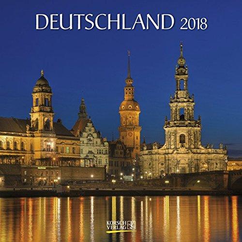 Deutschland 2018: Broschürenkalender mit Ferienterminen
