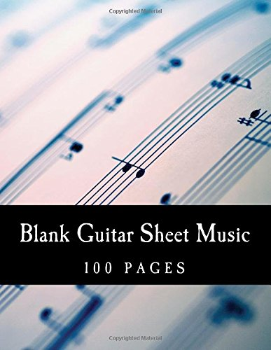 Blank Guitar Sheet Music: Tabs For Acoustic / Electric Guitar (Manuscript Paper) (Guitar Blank Sheet Music compare prices)