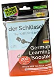 FlashSticks® German Flash Cards for Beginners | Best Way to Learn to Speak German | No Language Courses Needed | 200 Basic Vocabulary Study Cards Make Learning a Game | Free Online App Helps With Pronunciation | Perfect For Adults & Kids