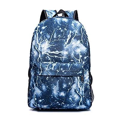 Blue Circlestars Backpack