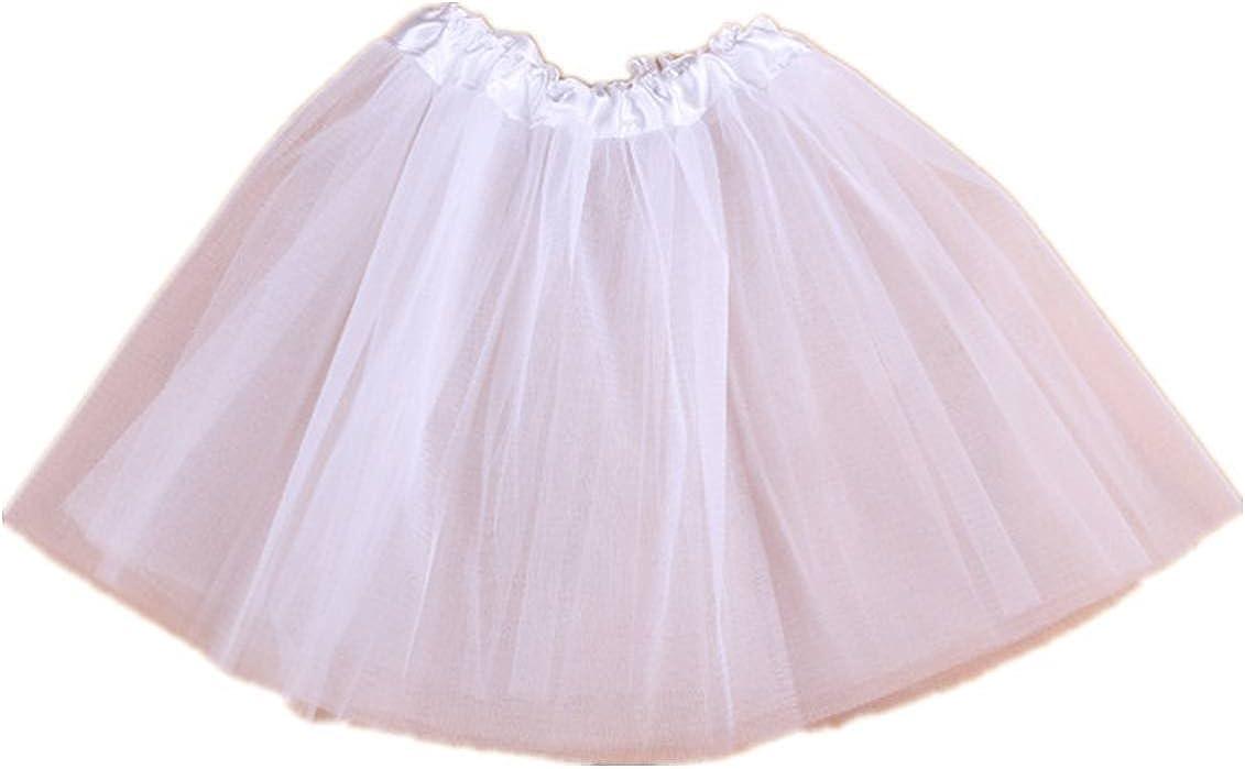 Tortoise /& Rabbit Bambino ragazza balletti danza partito costume soffice elastico in vita Gonna Tutu Skirt