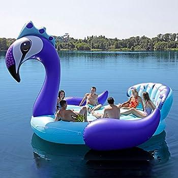 Amazon Com Bestway Coolerz Inflatable 7 Person Tiki