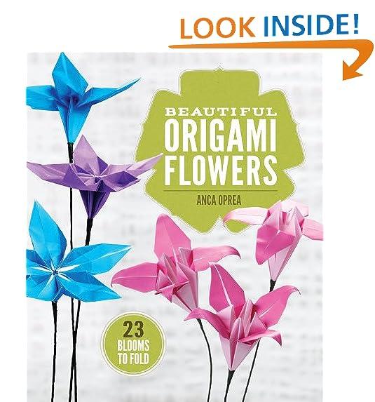 Origami flowers amazon beautiful origami flowers 23 blooms to fold mightylinksfo