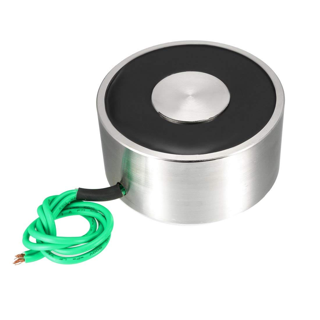 ZCHXD 80mm x 38mm DC12V 100KG Sucked Disc Solenoid Electric Lift Holding Electromagnet