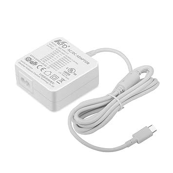 KFD 65W Cargador USB Tipo C USB C de Pared 5V3A 9V3A 12V3A ...