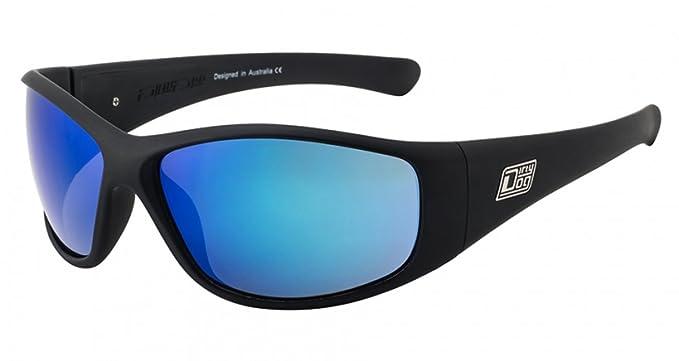 fe806343c82 Dirty Dog Ridge Sunglasses Blue Mirror Polarised 53388  Amazon.co.uk   Clothing