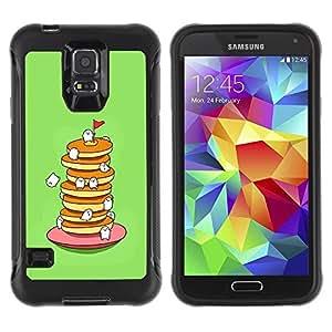 Pulsar iFace Series Tpu silicona Carcasa Funda Case para Samsung Galaxy S5 V , Mignon sucré