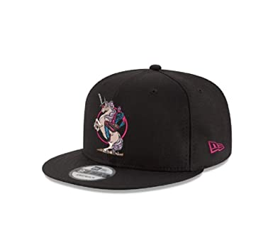 c9b0991c Image Unavailable. Image not available for. Color: New Era Deadpool Unicorn  Marvel 9FIFTY Snapback Cap Hat Headwear … Black